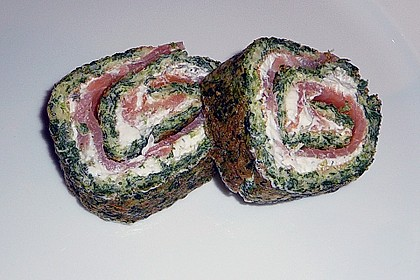 Spinat - Lachs - Rolle 11