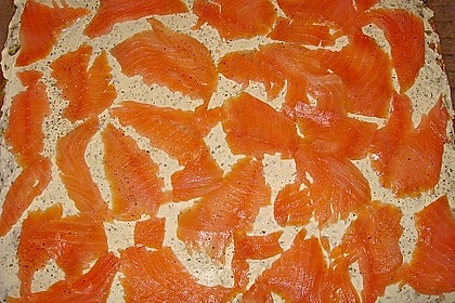 Spinat - Lachs - Rolle 12