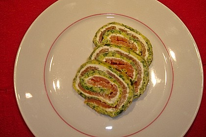 Spinat - Lachs - Rolle 6