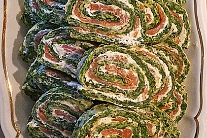 Spinat - Lachs - Rolle 3
