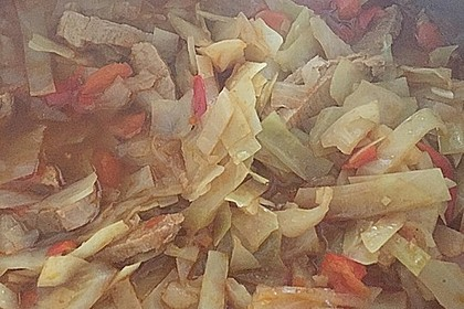 Mallorquinische Kohlsuppe (Bild)