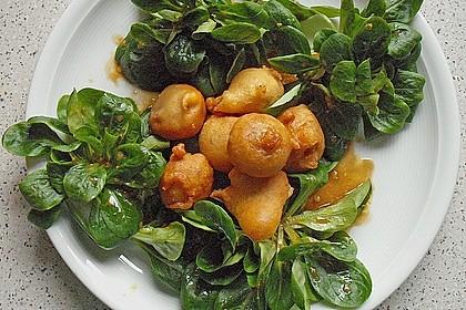 Zwiebelringe und Brokkoli im Bierteig 5
