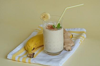 Ingwer - Bananen - Lassi 2