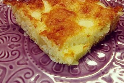 Schneller saftiger Apfelkuchen (Bild)