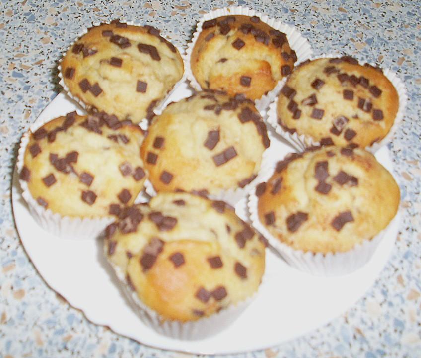 kirsch muffins mit schokost ckchen von jana koch79 chefkoch. Black Bedroom Furniture Sets. Home Design Ideas