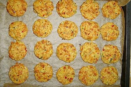 Kartoffel - Käse - Törtchen mit Tomaten 2