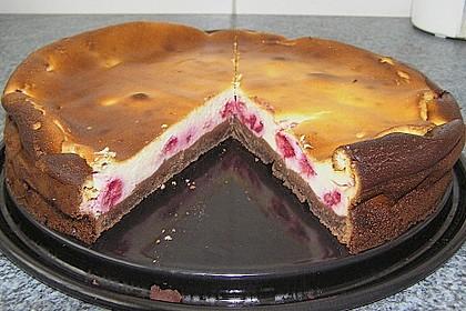 Brownieboden - Käsekuchen 4