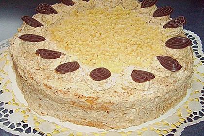 Sahne - Nuss - Torte (Bild)