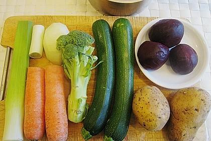 Gemüsejulienne - Eintopf aus Resten 3