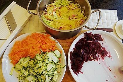 Gemüsejulienne - Eintopf aus Resten 5