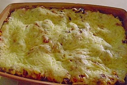 Lasagne mexikanische Art 10