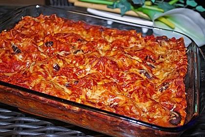 Lasagne mexikanische Art 4