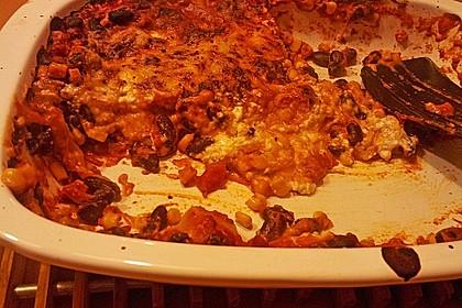 Lasagne mexikanische Art 14