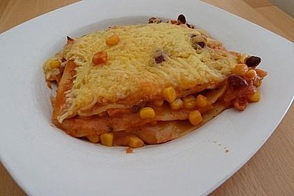 Lasagne mexikanische Art 8