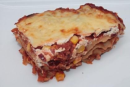 Lasagne mexikanische Art 7