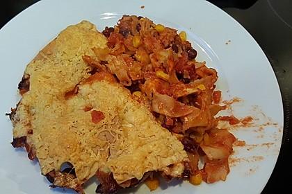 Lasagne mexikanische Art 6