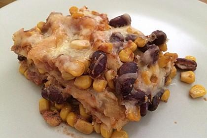 Lasagne mexikanische Art 1