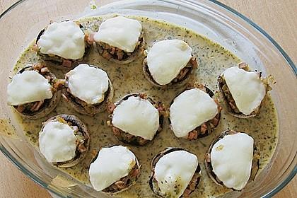 Illes leicht gefüllte Champignonköpfe auf Ofenkartoffeln 23