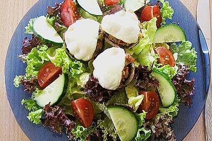 Illes leicht gefüllte Champignonköpfe auf Ofenkartoffeln 22