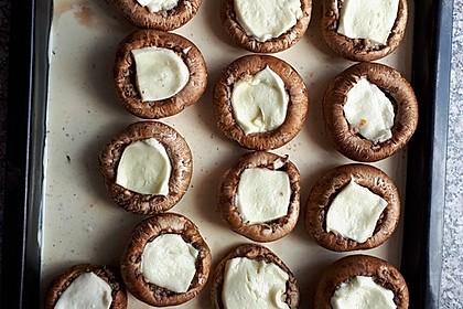 Illes leicht gefüllte Champignonköpfe auf Ofenkartoffeln 5