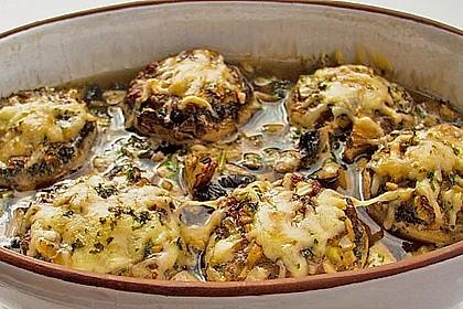 Illes leicht gefüllte Champignonköpfe auf Ofenkartoffeln 13