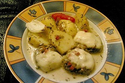 Illes leicht gefüllte Champignonköpfe auf Ofenkartoffeln 31