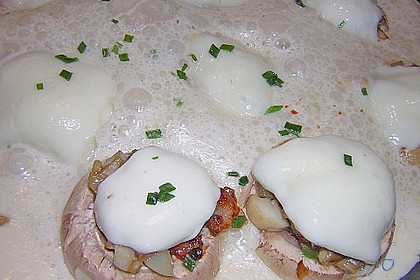 Illes leicht gefüllte Champignonköpfe auf Ofenkartoffeln 30