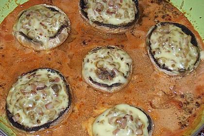 Illes leicht gefüllte Champignonköpfe auf Ofenkartoffeln 28
