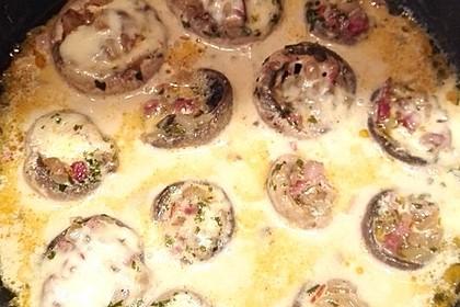 Illes leicht gefüllte Champignonköpfe auf Ofenkartoffeln 20