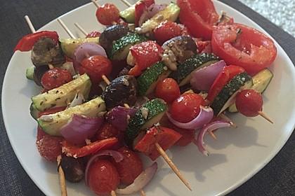 Illes Gemüsespieße aus dem Backofen 12