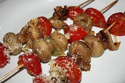 Illes Gemüsespieße aus dem Backofen 9