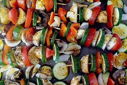 Illes Gemüsespieße aus dem Backofen 5