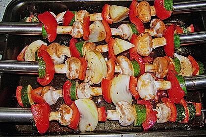 Illes Gemüsespieße aus dem Backofen 23