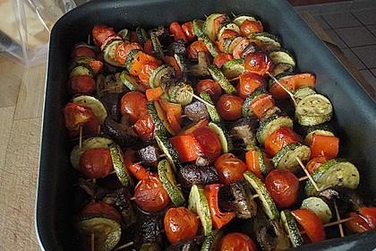 Illes Gemüsespieße aus dem Backofen 15