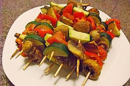 Illes Gemüsespieße aus dem Backofen 16