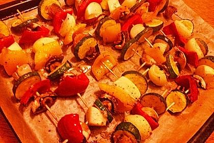 Illes Gemüsespieße aus dem Backofen 31