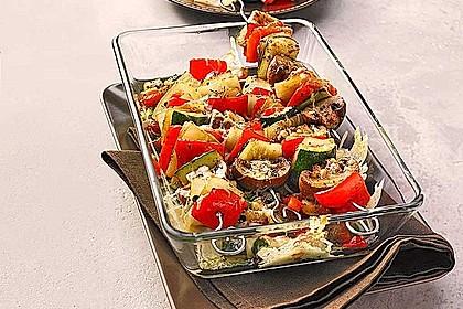 Illes Gemüsespieße aus dem Backofen 1