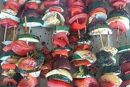 Illes Gemüsespieße aus dem Backofen 25