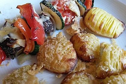 Illes Gemüsespieße aus dem Backofen 7