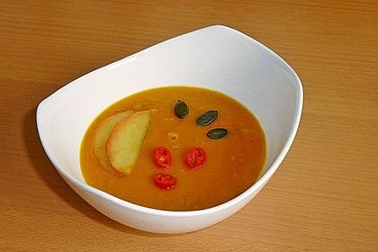 Kürbis-Apfel-Suppe 1