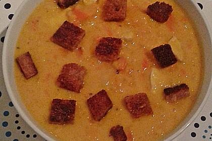 Kürbis-Apfel-Suppe 20