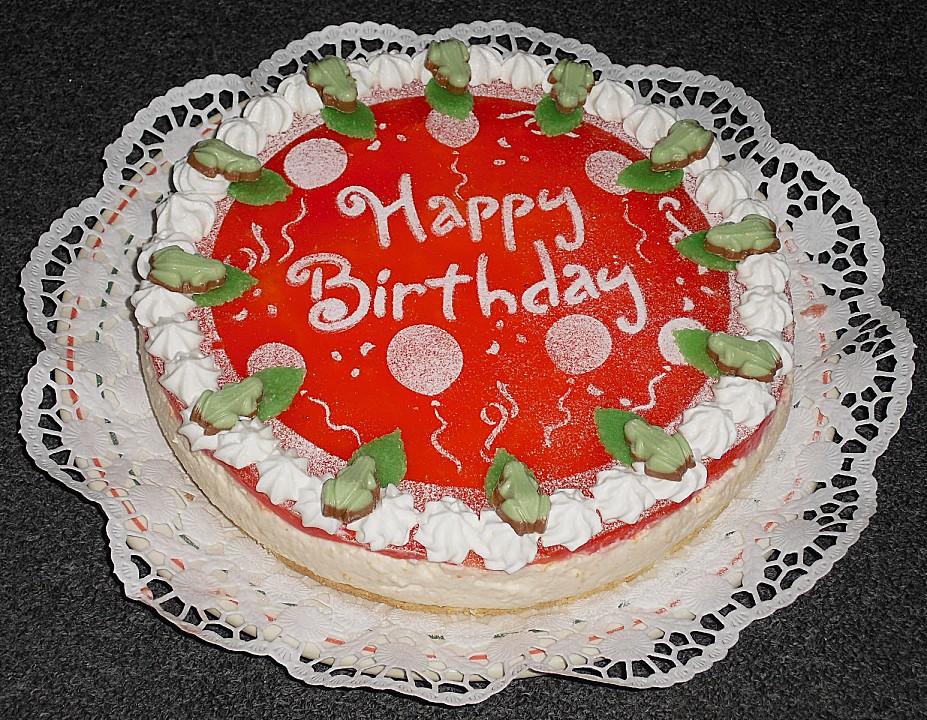 Happy Birthday Torte Von Reise Tiger Chefkoch De