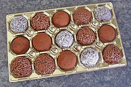 Griechische Schokoladenbällchen 1