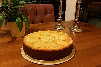 Apfel - Schmand - Kuchen