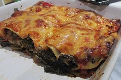 Grünkohl - Lasagne