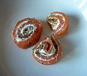 Gourmet - Lachsröllchen (Bild)