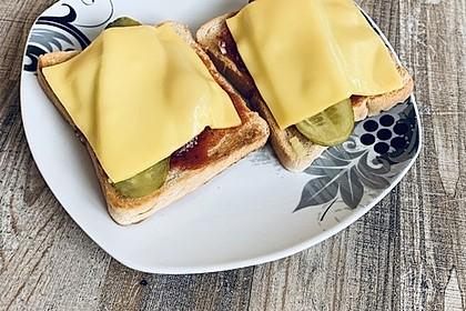 Pizza - Toast (Bild)