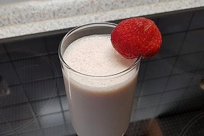 Erdbeermilch (Bild)