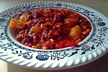 Bunter Fleisch-Kartoffel Topf - Bauerneintopf