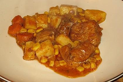 Bunter Fleisch-Kartoffel Topf - Bauerneintopf 1